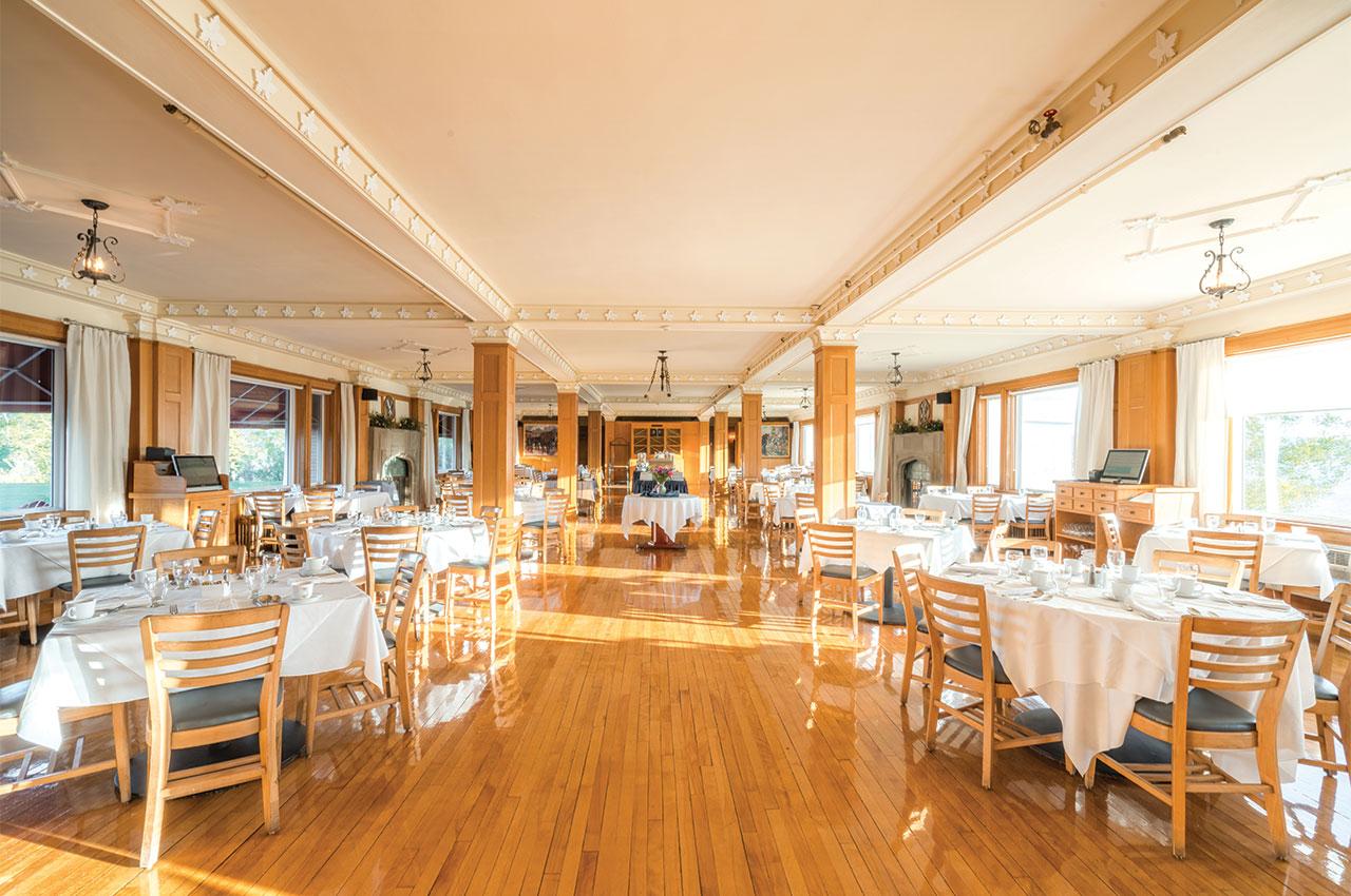 Purple Thistle Dining Room